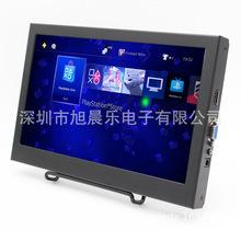 11.6寸便攜監控顯示器金屬外殼IPS液晶屏安防監視器閉路視頻顯示