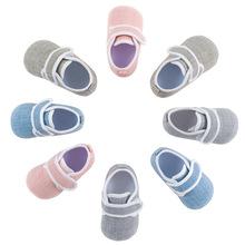 2018春夏新品男女宝宝童鞋婴儿鞋学步鞋防滑不掉鞋批发0-1岁代发
