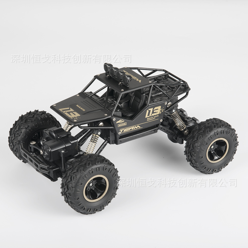 越野合金四驱车 充电高速攀爬车无线遥控车 儿童玩具耐摔避震车模