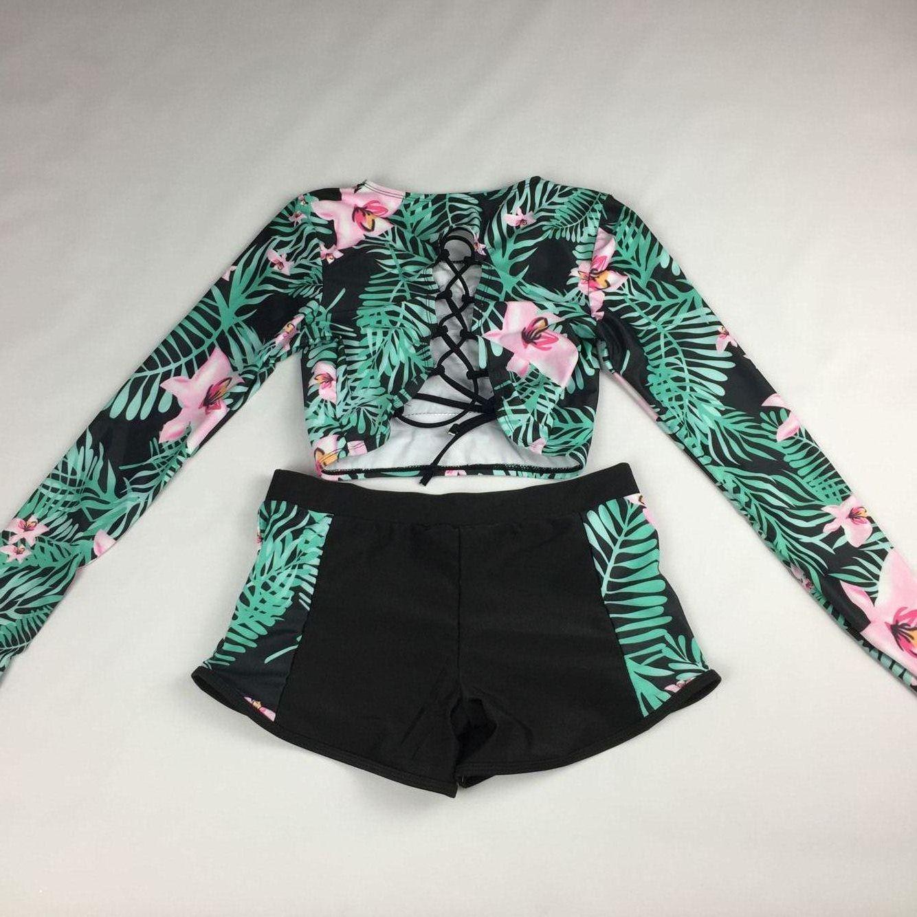 Polyester FashionBikini(Picture color -S) NHHL0441-Picture-color-S