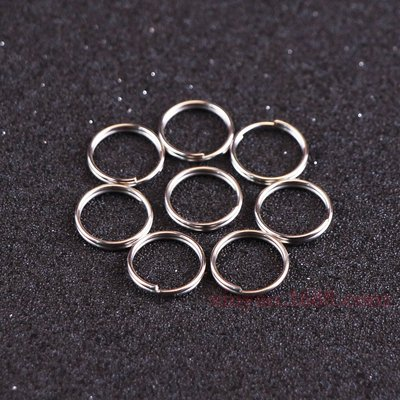 Outdoor Hanging Ring Steel Ring and Iron Ring Double Ring Environmental Protection Electroplating Connecting Ring
