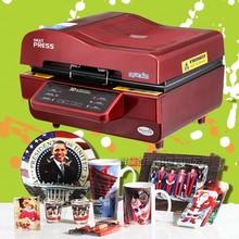 3D真空热转印机器设备烤杯机ST-3042热升华机手机壳印花机烫印机