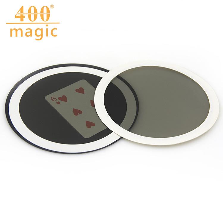小号魔镜WOW卡圆形小号扑克预言板近景魔术道具魔术玩具批发