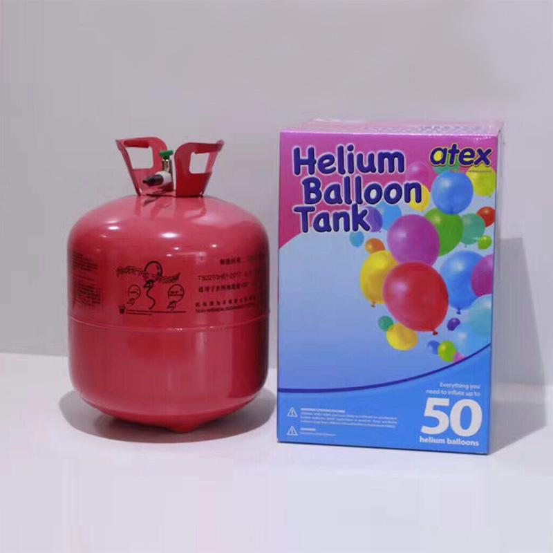 22L 氦气 婚庆婚房布置生日婚礼装饰批发升空气球充气