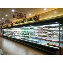 超市水果保鲜柜  水果店立式冷藏展示柜 蔬果柜  商用立风幕柜