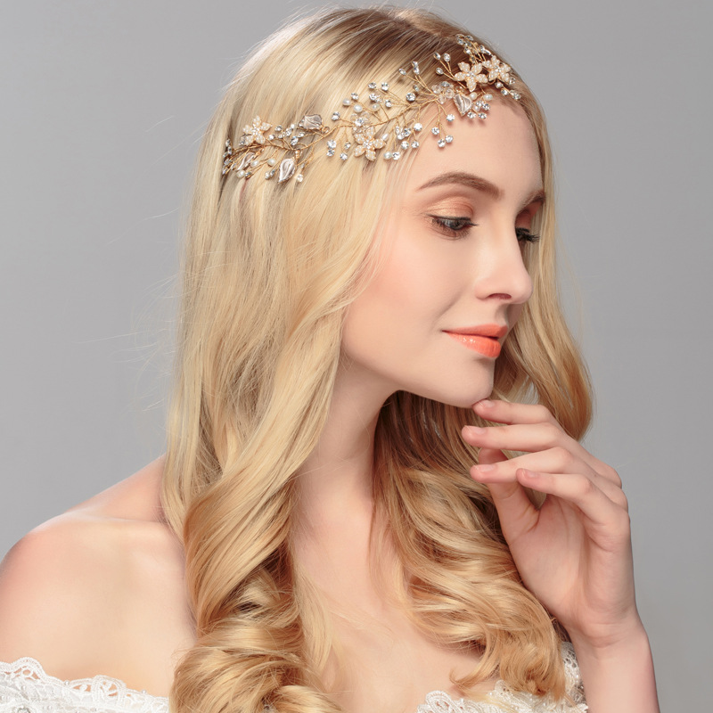 Alloy Fashion Flowers Hair accessories  Alloy NHHS0370Alloy