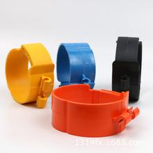40-75加寬 PVC固定絲桿塑料管夾 制冷卡扣吊卡 中央空調尼龍管卡