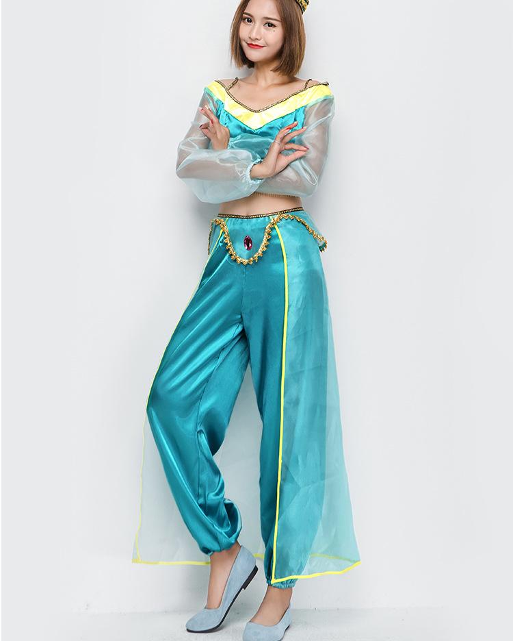 Halloween cosplay Arabian princess costume Indian dancer costume NHFE155246