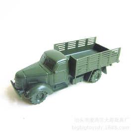12CM经典老东风车模型 战争场景军事卡車 沙盘摆件 厂家直销玩具