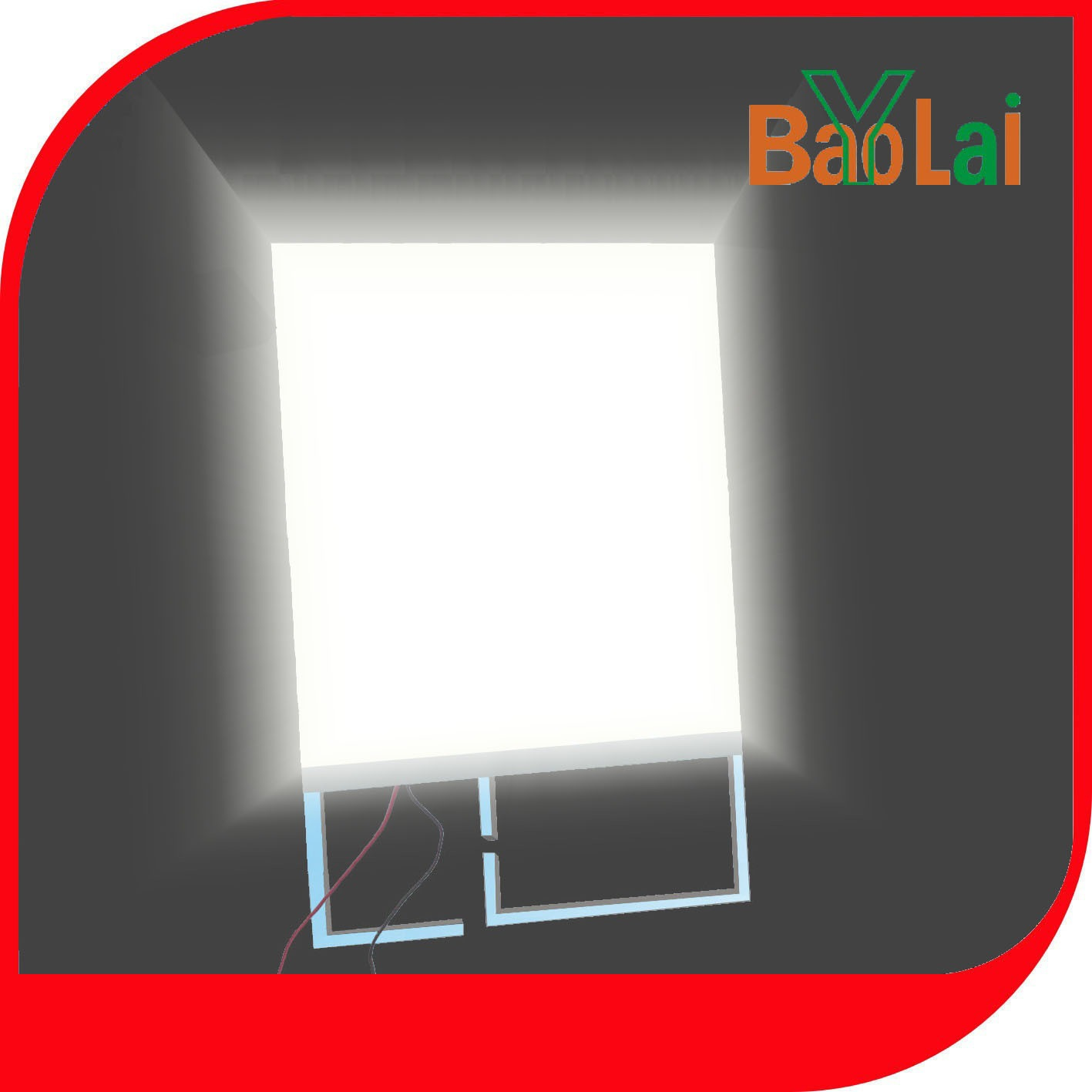 lcd背光源导光板厂家定制 家用电器仪器仪表LED背光源透镜侧背光