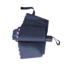 廠家批發新款廣告傘10骨加大碰擊包邊 定制logo三折商務 晴雨傘