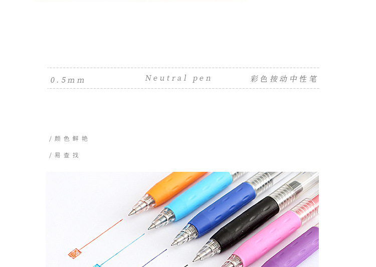 Creative quick-drying color gel pen NHHE156216