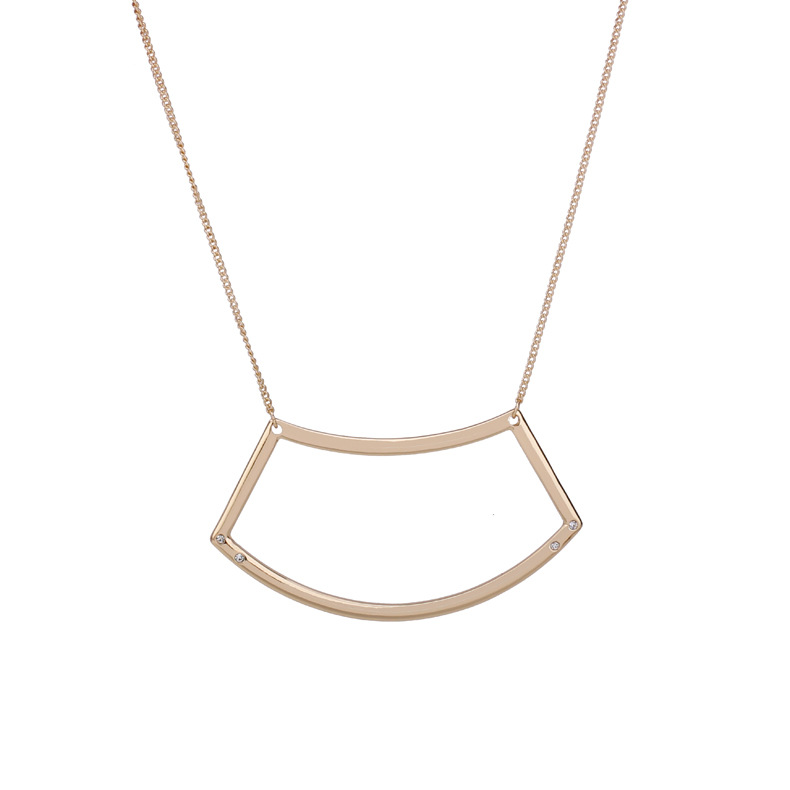 Fashion OL alloy plating necklace (Gold)NHBJ0286-Gold
