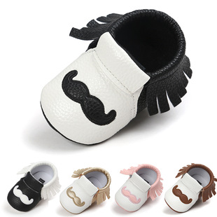 Multicolor Susu Beard Baby Shoes Baby Shoes Soft Sole Toddler Shoes C001