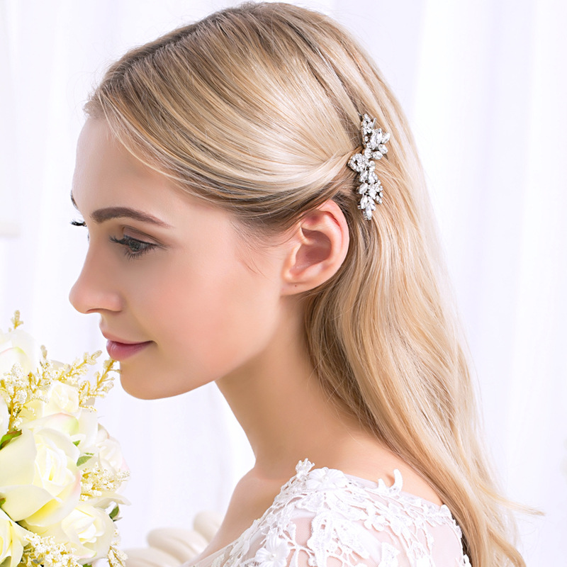 Alloy Fashion Geometric Hair accessories  (white) NHHS0196-white