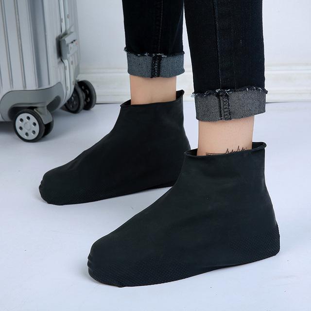 Giày cao su không thấm nước, chống mưa, chống tuyết, giày chống cát, đi du lịch ngoài trời, ngày mưa, dày, học sinh nam và nữ, nhà sản xuất trẻ em Hàng tươi