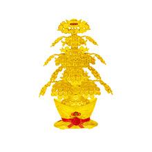 新款金色发财树摇钱树 招财元宝家居开业装饰礼品工艺品装饰摆件