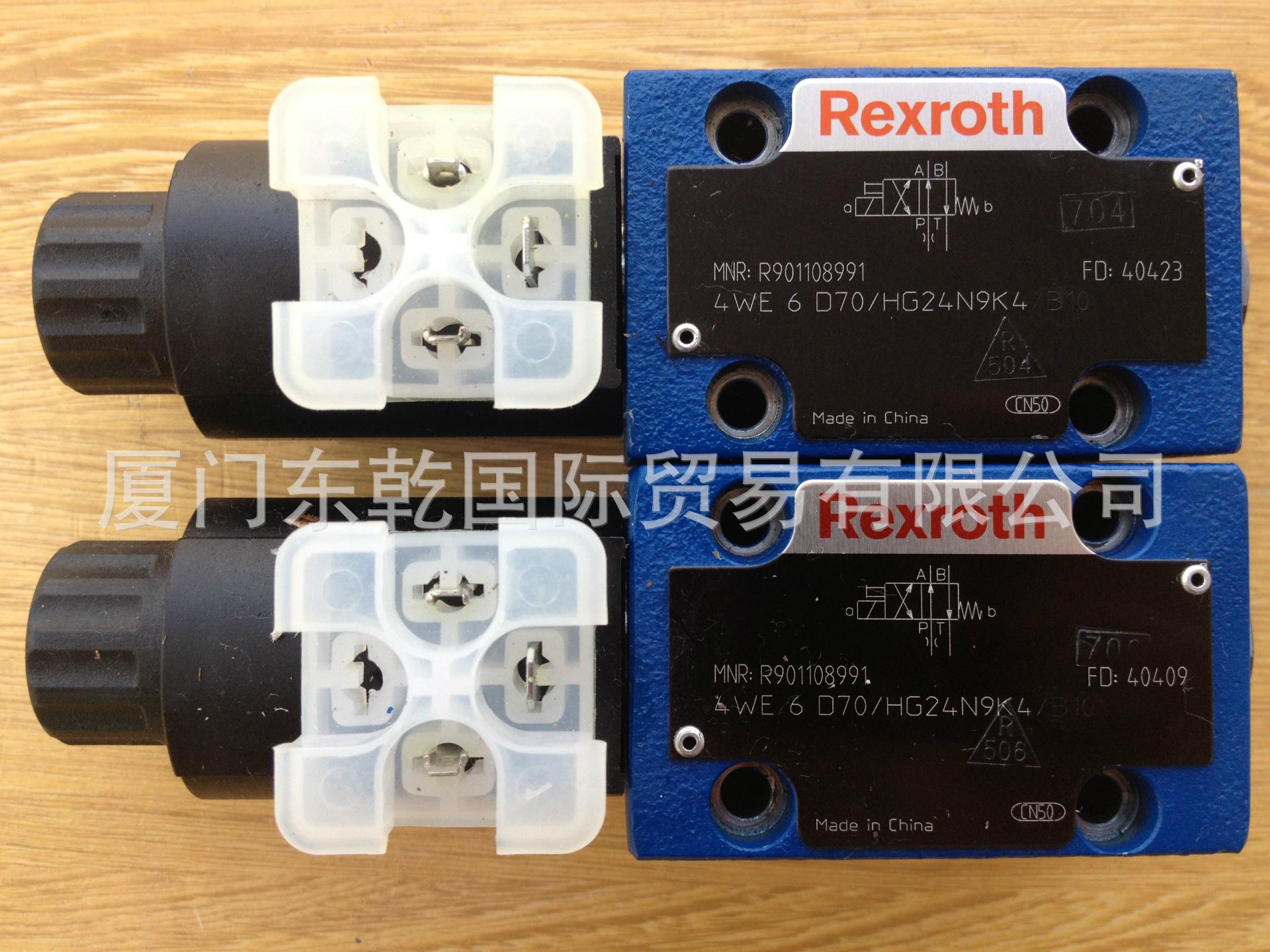 供应德国Rexroth力士乐4WE6D70/HG24N9K4电磁阀换向阀原装全新