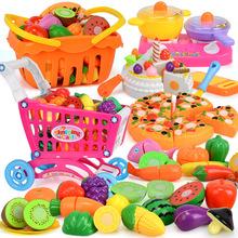 趣味切切乐儿童套装过家家玩具女孩厨房地摊热卖diy玩具 厂家直销