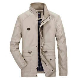 速賣通2017新款冬季棉衣男士中長款青年加厚男裝休閑冬裝帅气外套