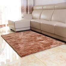 廠家批發長方形地毯客廳純色地墊韓國絲免洗地毯簡約門墊批發地毯