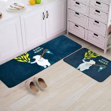 晚安集系列進門腳墊門墊 客廳臥室廚房長條地墊 飄窗床邊地毯