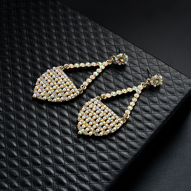 Occident and the United States alloy plating earring (61179385)NHLP0813-61179385