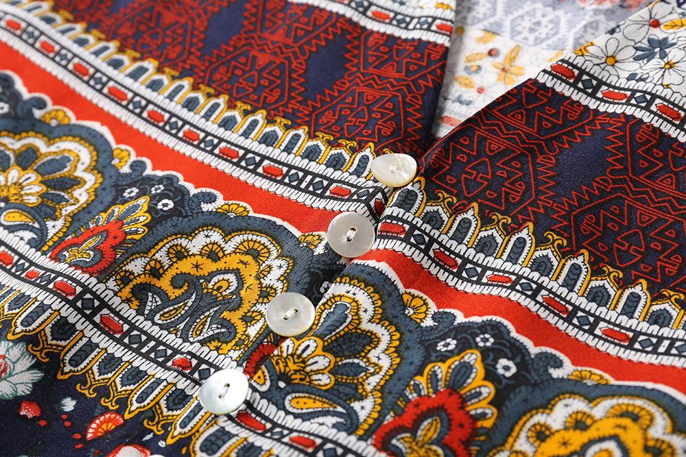 Polyester Fashiondress(Coffee-M) NHDF0396-Coffee-M