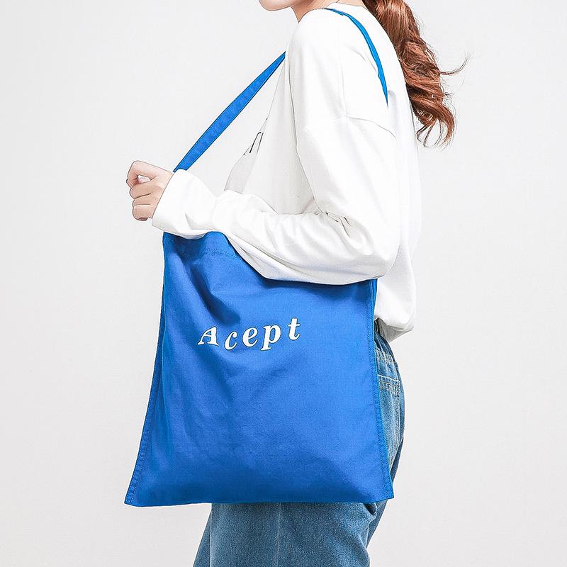 特价款简约文艺包 帆布环保袋 复古森系学生包 休闲单肩包