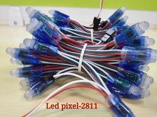 LEDpixel全彩外露字防水燈串UCS1903 WS2811 5inch15CM3inch10CM