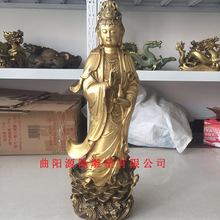 供應寺院銅雕觀音佛像 坐佛站佛觀音佛像 阿彌陀佛 寺廟供奉擺件