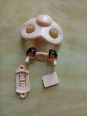 手指猴已喷油共六个颜色塑胶外壳指尖猴配套塑胶外壳套料