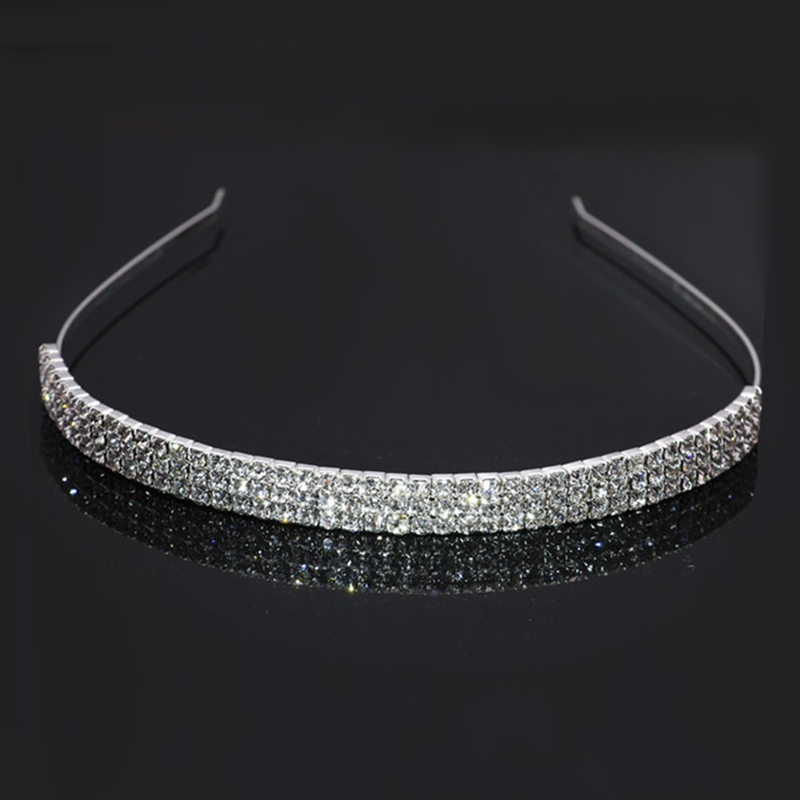 Star with the money metal plating Hair ornaments (5 rows of silver)NHIM0651-5 rows of silver