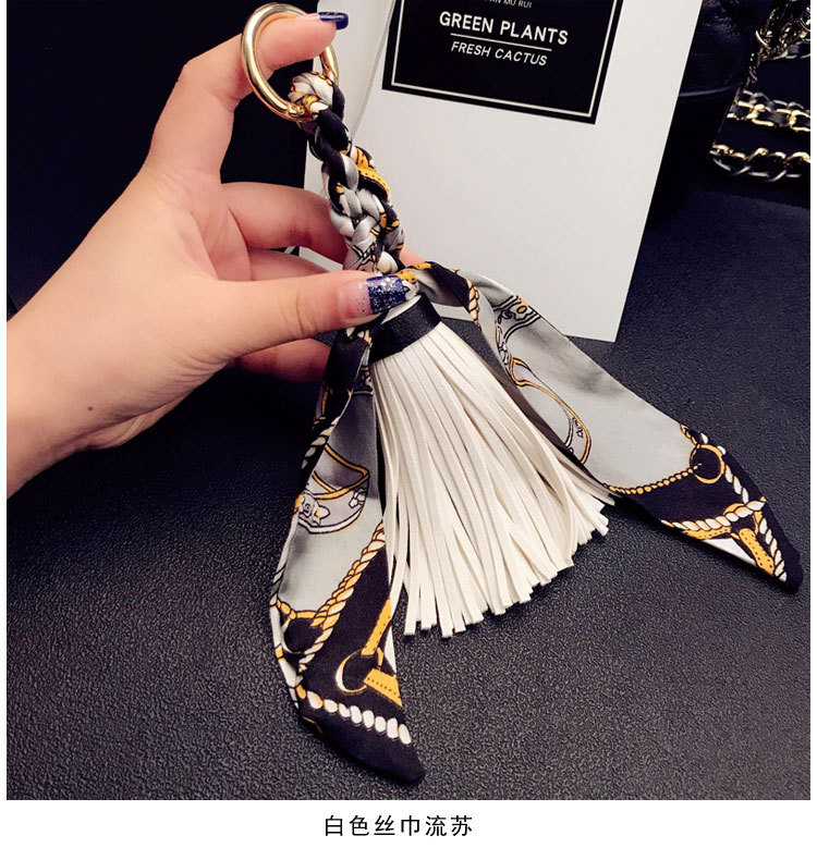 Fashion Leather  Keychain Geometric (1)  NHBM0034-1