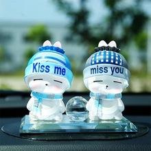 爆款热卖 汽车香水卡通娃娃车载香水 可爱公仔摆件情侣香水座