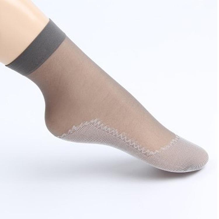 新款夏季牛奶丝超弹面膜钢丝袜袜子耐穿刚丝袜短丝袜女士薄款批发