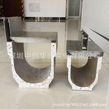 深圳中创专业生产缝隙线性树脂混凝土 成品线性排水沟盖板厂家