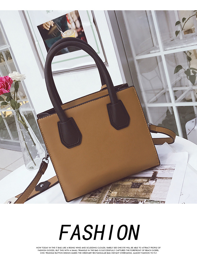 Korean version PUShoulder bag (brown)NHPB0265-brown