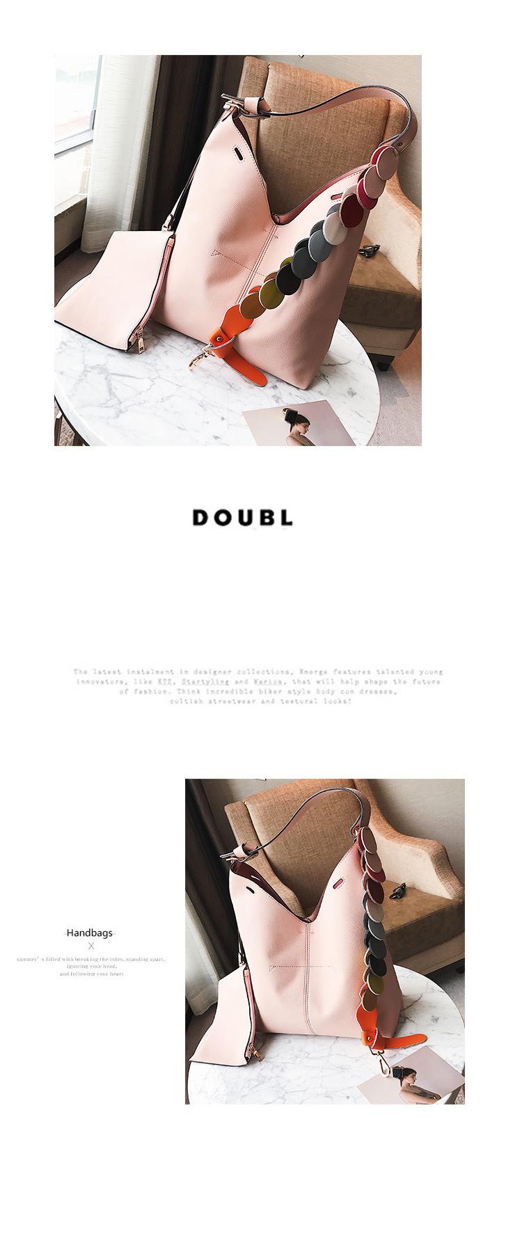 Korean version PUhandbag (Pink)NHPB0305-Pink