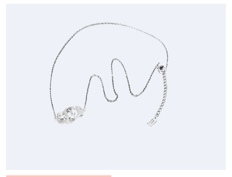 Alloy Korea Geometric necklace  (Alloy-925 Alloy) NHTF0186-Alloy-925-Alloy