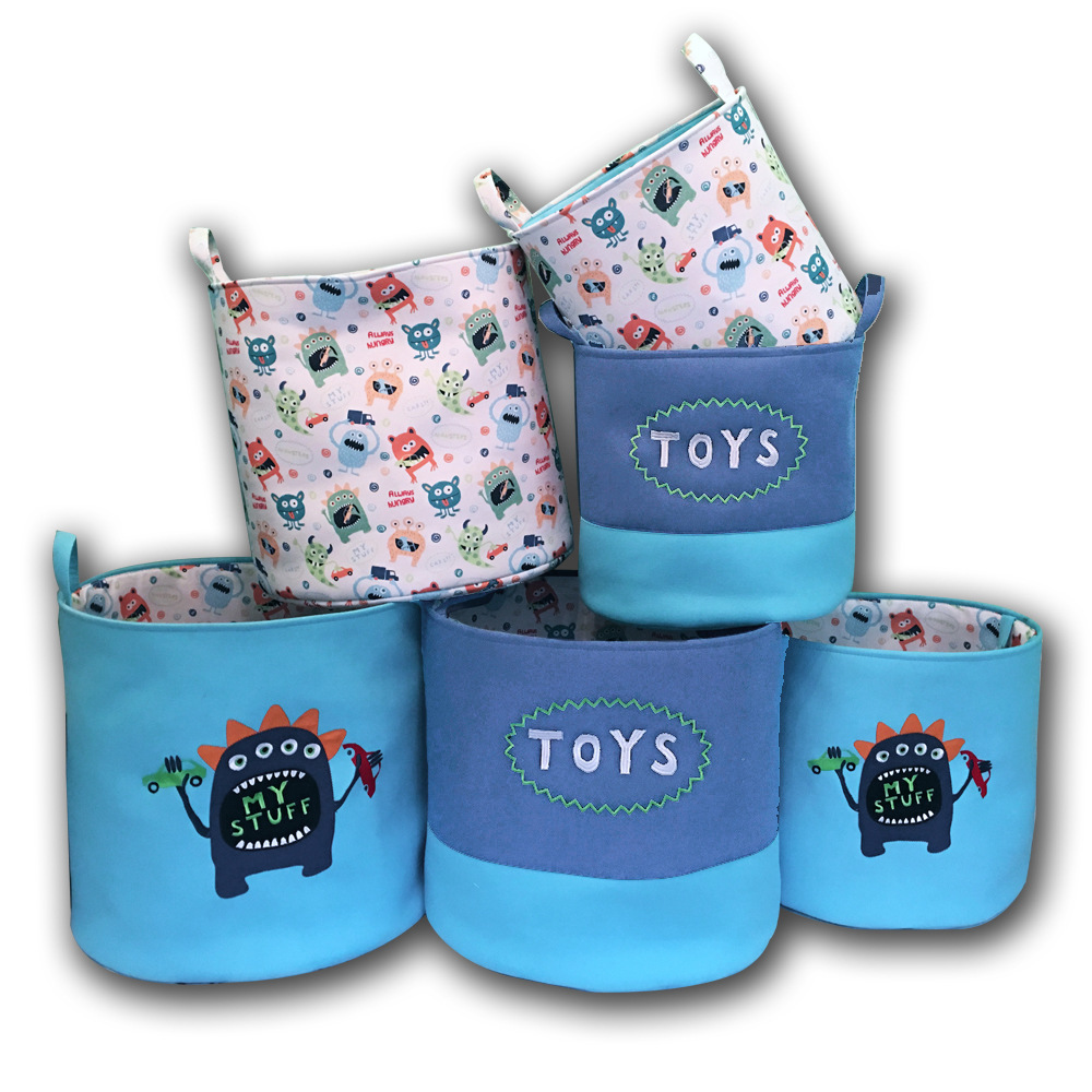 Square Collapsible Canvas Storage Box Foldable Kids Toys: 2019 Foldable Laundry Hamper Collapsible Canvas Waterproof