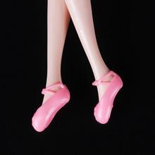 芭比比娃娃透明水晶鞋配饰配件鞋子高跟鞋玻璃鞋批發直销1斤