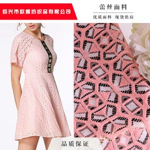 现货供应 锦棉适用春夏季节 几何印花风格 经典元素