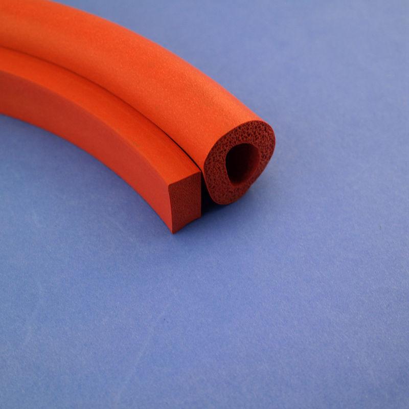 直供发泡条耐高温定制发泡制品 发泡硅胶条 胶条 发泡海绵条 管条