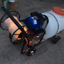 农田果园果树杀虫高压喷雾机销往全国带杀虫四轮自走式推车打药机