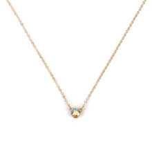 Fashion multilayer sunflower womens necklace wholesale NHRN254715
