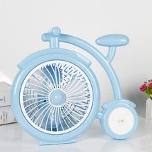 航曉 卡通家用學生素色夏季爆款自行車款式插電迷你小風扇