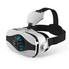 5Fmini风扇款vr眼镜虚拟现实3d手机游戏rv眼睛4d一体机头戴式ar