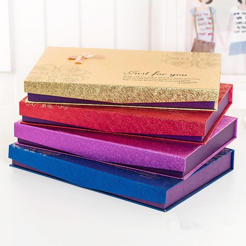 爆款48格 礼品盒 礼物包装盒 喜糖盒 巧克力盒子批发4色可选