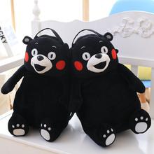 厂家批发 现货供应熊本君毛绒玩具毛绒抱枕 熊本熊儿童书包